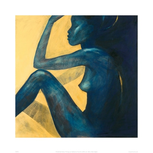 ''Morning Lust'' by Michelle Buhl-Nielsen Nudes/Erotic Art Print (19.7 x 19.7 in.)