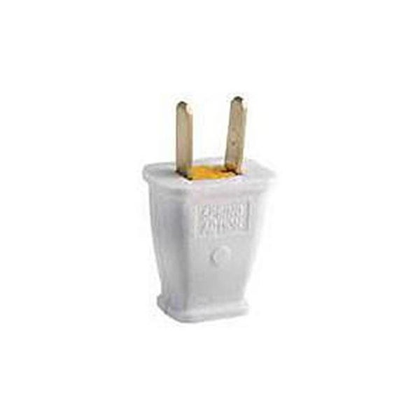 Groovy Shop Wiring Sa540W 15 Amp 125 Volt White Polzd Plastic Plug Free Wiring 101 Dicthateforg