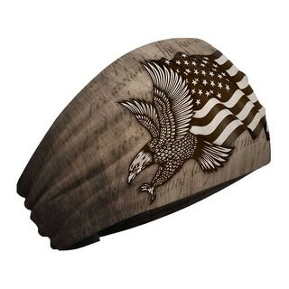 That's A Wrap Unisex Patriotic Eagle Performance Knotty Band - Brown KB2615 - One Size Fits most