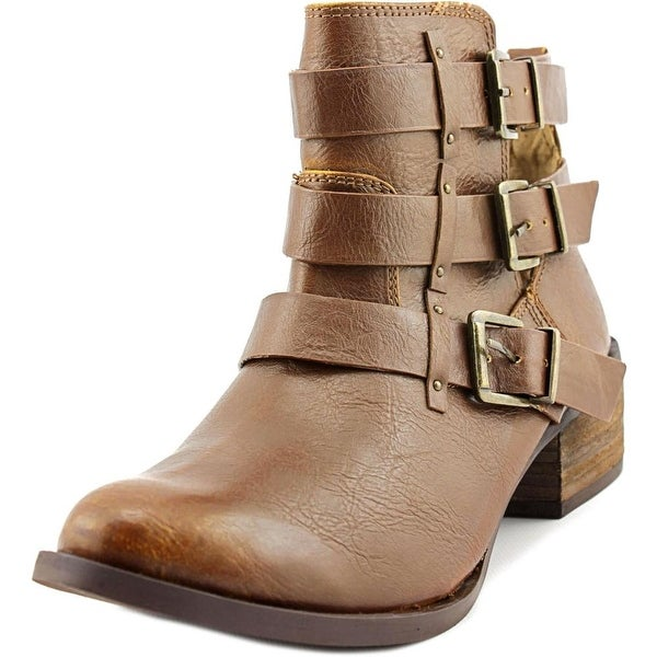 Not Rated Brydie Women Round Toe Synthetic Ankle Boot