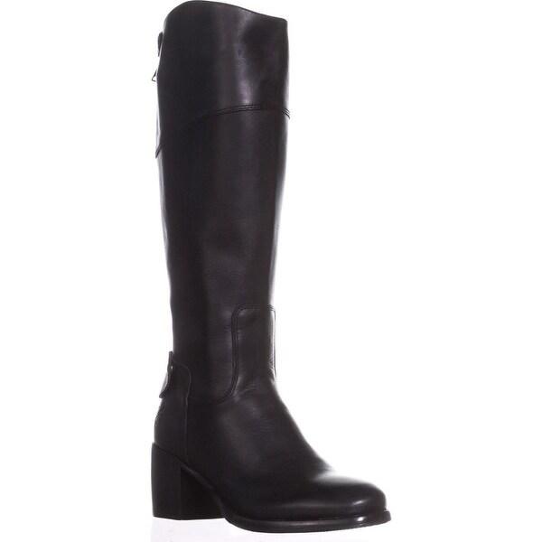 6609c7a4e0b Shop Patricia Nash Loretta Wide Calf Riding Boots, Black - On Sale ...