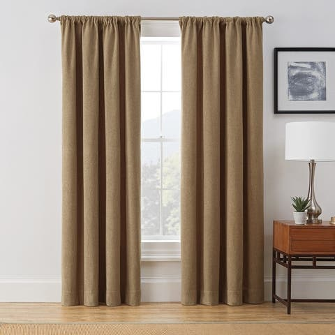 Brookstone Harvey 100-Percent Blackout Window Curtain Panel