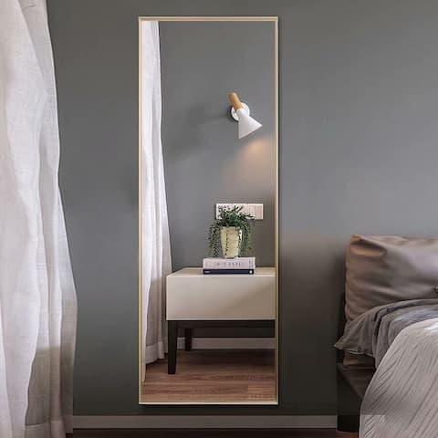Carson Carrington Paaskynen Aluminum Alloy Full Length Floor Mirror
