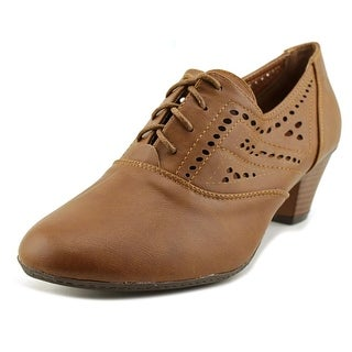 Refresh London-01 Women  Round Toe Synthetic Brown Oxford