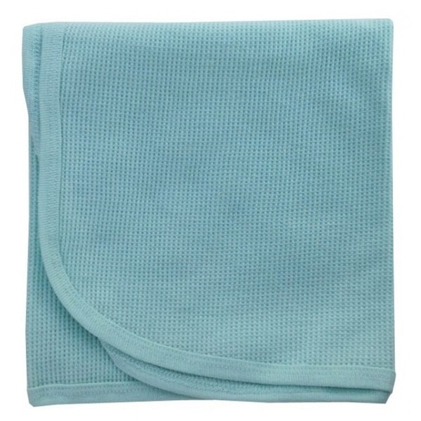 Bambini Mint Thermal Receiving Blanket - Size - 30x40 - Unisex