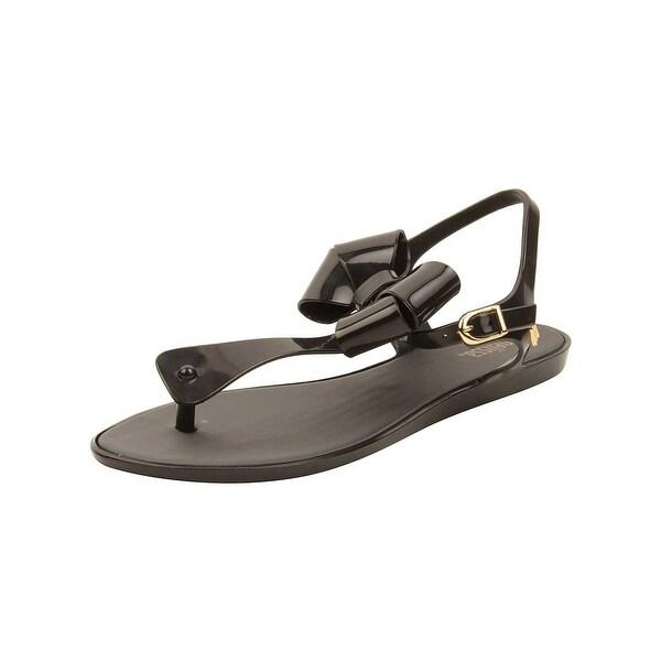 Melissa Womens Solar III Sandals in Black