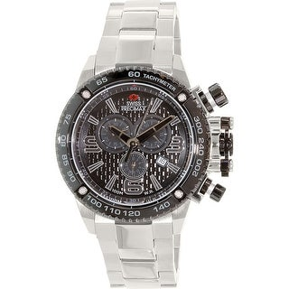 Swiss Precimax Men's Forge Pro SP13246 Silver Stainless-Steel Sport Watch