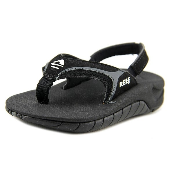 42ce55faa2cf Shop Reef Kid s Slap II Bla Flash Grey Sandals - Free Shipping On ...