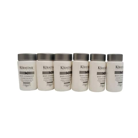 Kerastase Bain Gommage Travel Size Shampoo Dry Hair 1 OZ Set of 6 - 0.050 oz.