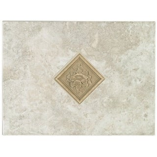 Mohawk Industries 5165 12 Inch Bianco Ceramic Tile Decorative Accent