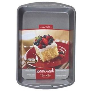 "Good Cook 04010 Non-stick Oblong Cake Pan, 13"" x 9"""