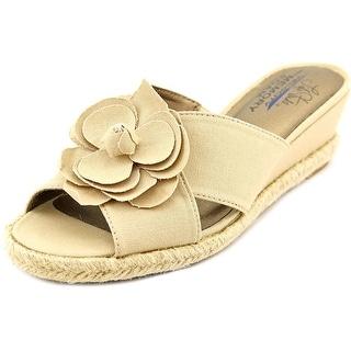 Life Stride Omega Women Open Toe Synthetic Wedge Sandal