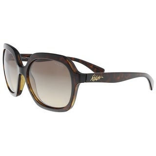 Ralph Lauren RA5229 137813 Dark Tortoise Square Sunglasses - 57-17-140