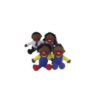 Marvel Education African-American Family Puppets, Set of 4