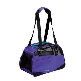 "Bergan Voyager Pet Carrier Medium / Large Purple 13"" x 19"" x 10"""