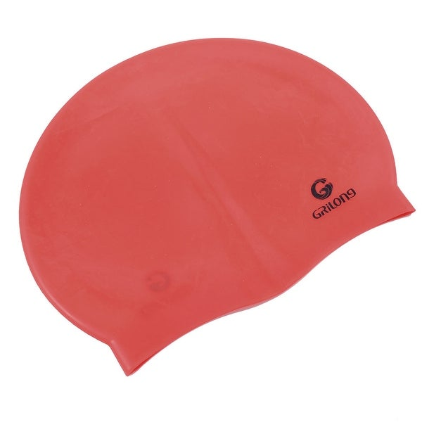 9c27acf6c14 Shop Unique Bargains Stretchy Waterproof Silicon Ear Hair Protection  Swimming Cap Hat For Women Men - Free Shipping On Orders Over  45 -  Overstock.com - ...