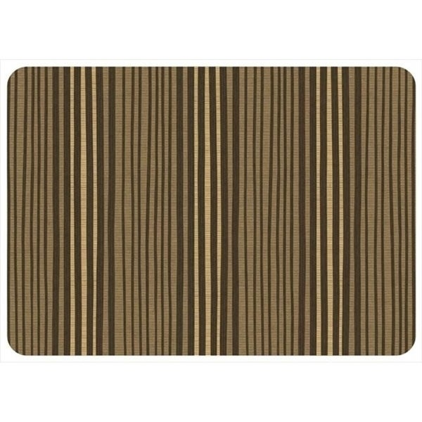 204911362231 Hand Painted Stripe in Natural - 1.83 ft. x 2.58 ft.