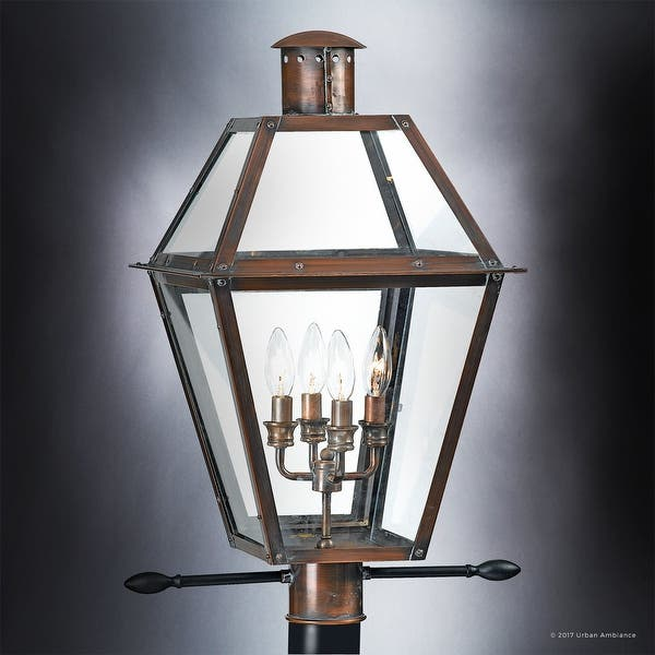 Shop Luxury Historic Outdoor Post Light 26 H X 17 W With
