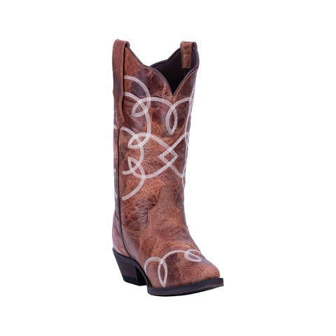 "Laredo Western Boots Womens Happy Hour Snip Toe 12"" Shaft"
