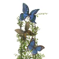 """Club Pack of 72 Polyester Butterfly Decorations 4"""" - multi"""