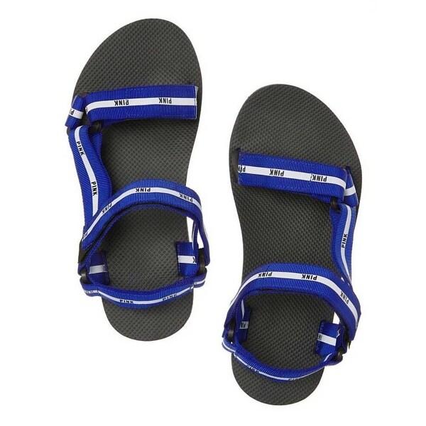 Victoria's Secret PINK Strappy Summer Sport Slides Sandals