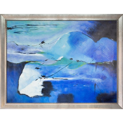 Pol Ledent 'Abstract 181113' Hand Painted Oil Reproduction