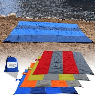 Sunnydaze Pocket Blanket for Camping, Picnics, Hiking, and the Beach, Made from Lightweight Nylon - Color Options Available|https://ak1.ostkcdn.com/images/products/is/images/direct/7c0d089dd0839b7d50060bd5cc56dd94fe998b9f/Sunnydaze-Pocket-Blanket-for-Camping%2C-Picnics%2C-Hiking%2C-and-the-Beach%2C-Made-from-Lightweight-Nylon---Color-Options-Available.jpg?impolicy=medium