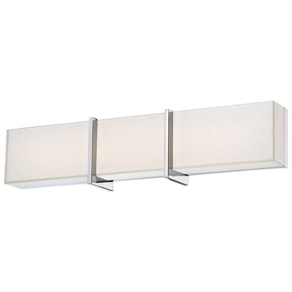 """Minka Lavery 2922-77-L 1 Light 24.25"""" Width LED ADA Bath Bar from the High Rise Collection"""