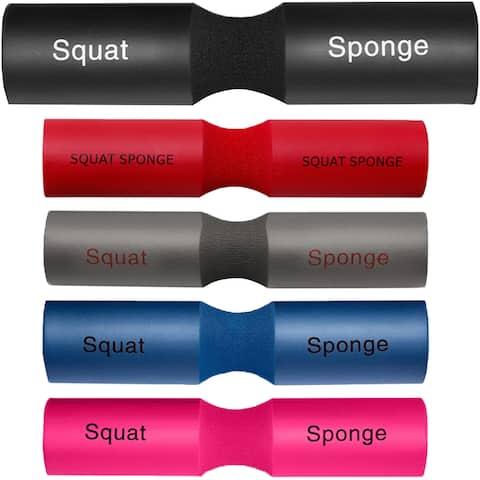 "Squat Sponge Olympic Barbell Pad (18"" x 3.5"" x 1.25"")"