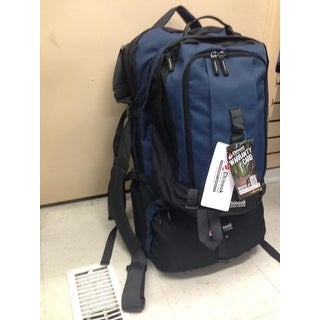 Chinook Journey 75L Blue Travel Backpack, Removable Daypack - Great for Europe!