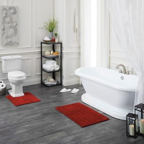 Mohawk Home Basic Stripe Bath Rug