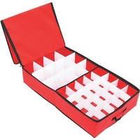 Dyno Seasonal Solutions 52 Ct. Orna. Storage Box 77017-1 Unit: EACH