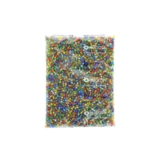 Link to John Bead Czech Seed Beads 3/0 Multi S/L - Medium Similar Items in Jewelry & Beading