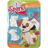 Playful Pups - Spark Plaster Magnet Kit