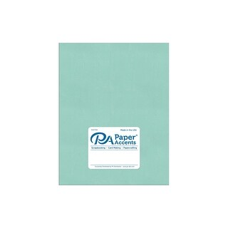 Paper Pearlized 8.5x11 80lb Frosted Teal 5pc