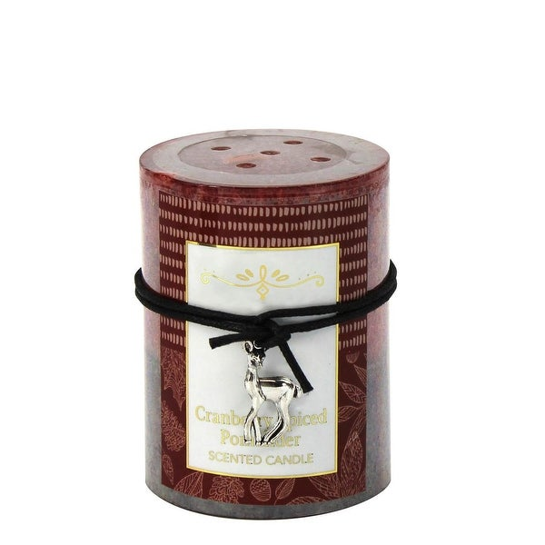 Cranberry Spiced Scented Candle 3X4