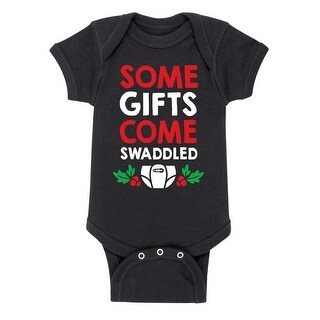 Gifts Come Swaddled - Christmas Pop Culture Infant One Piece