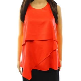 Alfani NEW Orange Tropical Punch Women's Size 10 Tier Asymmetric Top|https://ak1.ostkcdn.com/images/products/is/images/direct/7c14f4bc26a2afcccddae6976e9c44d0b0cfaf0c/Alfani-NEW-Orange-Tropical-Punch-Women%27s-Size-10-Tier-Asymmetric-Top.jpg?impolicy=medium