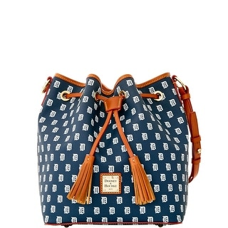 Dooney & Bourke MLB Tigers Drawstring (Introduced by Dooney & Bourke at $248 in Oct 2015) - Navy