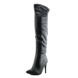 Chinese Laundry Stunning Women Pointed Toe Synthetic Black Knee High Boot|https://ak1.ostkcdn.com/images/products/is/images/direct/7c15d6d23cb6fd8d4a18512266a34385899b2b30/Chinese-Laundry-Stunning-Women-Pointed-Toe-Synthetic-Black-Knee-High-Boot.jpg?impolicy=medium