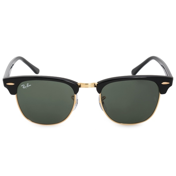 fc94b54a0d Shop Ray-Ban Clubmaster Sunglasses RB3016 W0365E 49 - Free Shipping ...