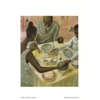 ''Grace'' by John Holyfield African American Art Print (11 x 8.5 in.)