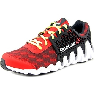 Reebok Zigtech Big N Fast EX Youth Round Toe Synthetic Red Running Shoe