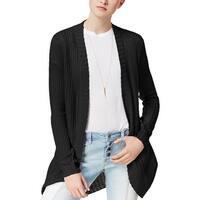 Ultra Flirt Womens Cardigan Sweater Open Front Long Sleeves