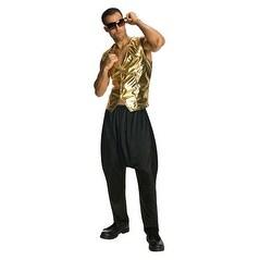 Mens Halloween MC Hammer Pants Color Black - standard - one size