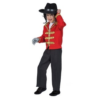 Boys Black Pop Star Pants Halloween Costume