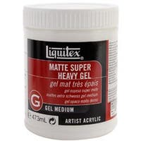 16Oz - Liquitex Super Heavy Matte Acrylic Gel Medium