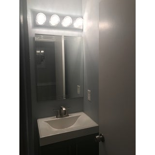 Decor Wonderlad Frameless Tri-bevel Wall Mirror - Clear - A/N