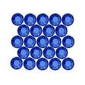 Swarovski Elements Crystal, Round Flatback Rhinestone Hotfix SS12 3mm, 50 Pieces, Sapphire - Thumbnail 0