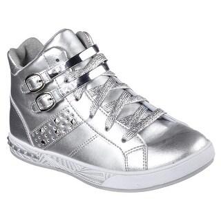 Skechers 84405L SIL Girl's SASSY KICKS Sneakers
